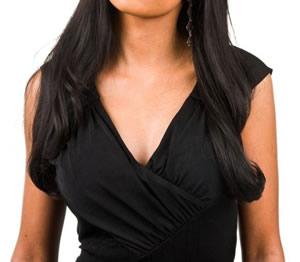 Увеличение груди одеждой